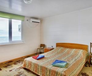 2-х местный 1-комнатный в Коттедже на пляже